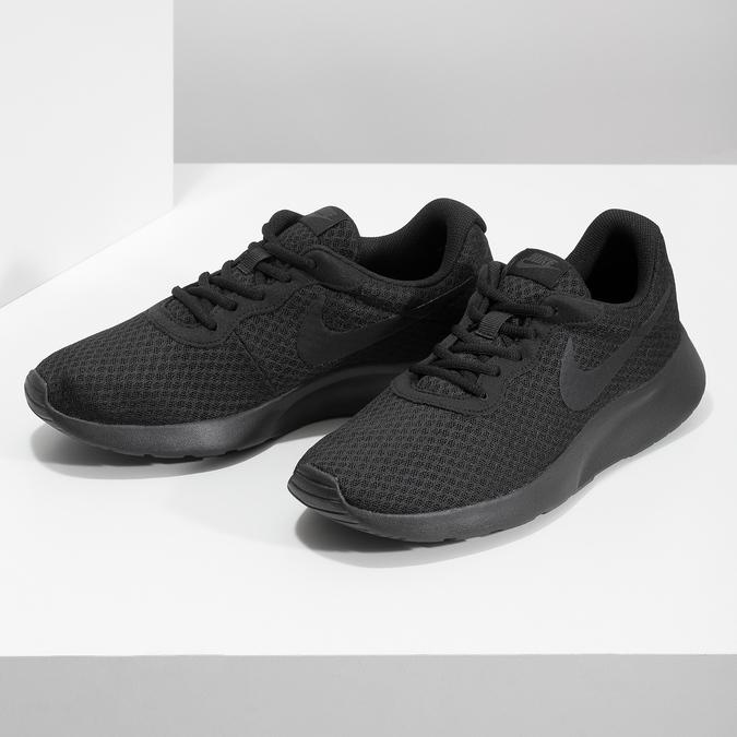 Men's black sneakers nike, black , 809-0557 - 16