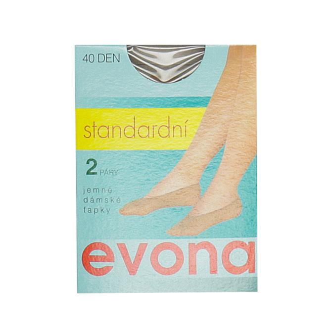 Socks evona, brown , 919-4100 - 13